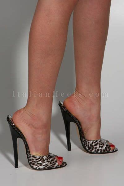 black high heel mules mules high heels 2084 italianheels high heels 6 inch