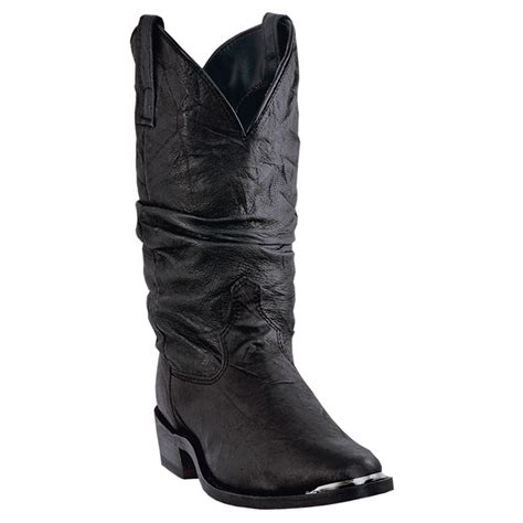 s dingo amsterdam western slouch boots black 591393