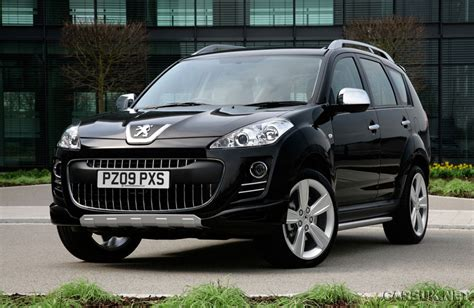 peugeot 4007 sport xs launched