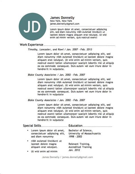 A Simple Resume Example by 11 Best Ladattavia Cv Pohjia Images On Pinterest Free