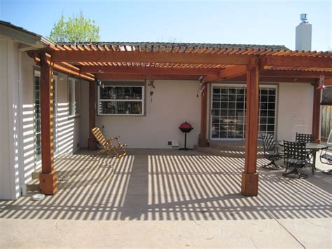 redwood patio cover patio redwood cover san jose ca concrete masonry