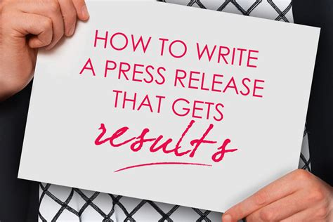how to write a press release that gets results talented