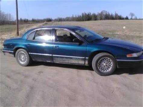 how to work on cars 1997 chrysler lhs electronic valve timing apedude247 1997 chrysler lhssedan 4d specs photos modification info at cardomain