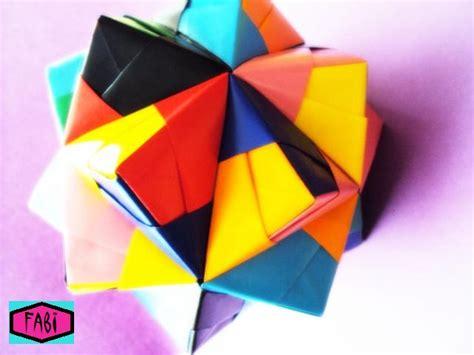 Icosahedron Origami - origami triambic icosahedron by 00naru00 on deviantart
