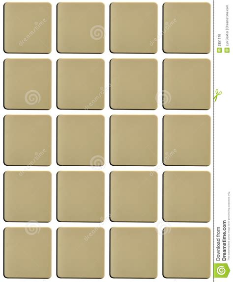 scrabble blank tile blank tiles stock illustration image of education keypad