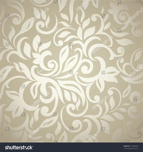 abstract seamless floral pattern background free vector elegant stylish abstract floral wallpaper seamless stock