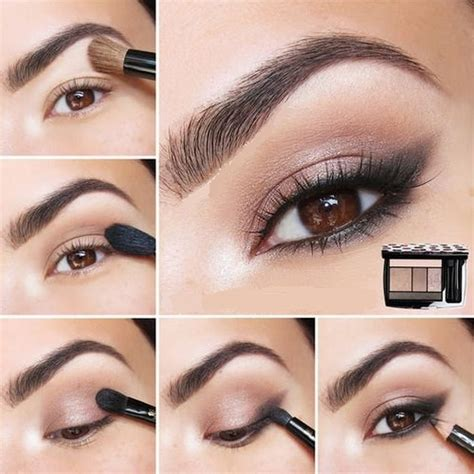 eyeliner tutorial natural look pretty eye makeup for brown eyes tutorial