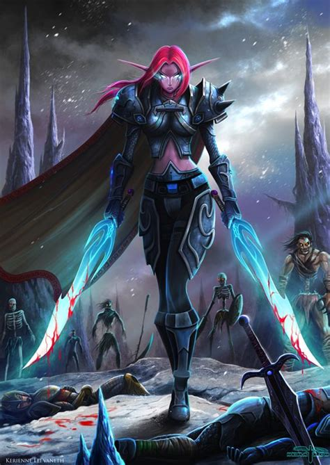 wow dk hair color 145 best images about death knight art on pinterest