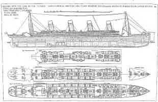 titanic floor plans on the deck titanic