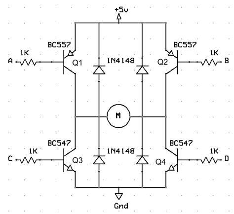 transistor h bridge learning about h bridges and transistors element14 arduino
