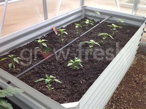 Greenhouse Planter Boxes by 2x Greenhouse Colorbond Diy Raised Planter Box Garden Bed