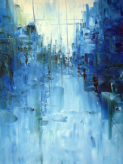 best 25 blue abstract painting ideas on blue