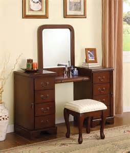 Makeup Vanity Table Set Iduu963pav Mirrored Makeup Vanity