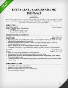 Resume Skill Exle by Entry Level Resume