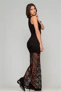 robe en dentelle noir pas cher