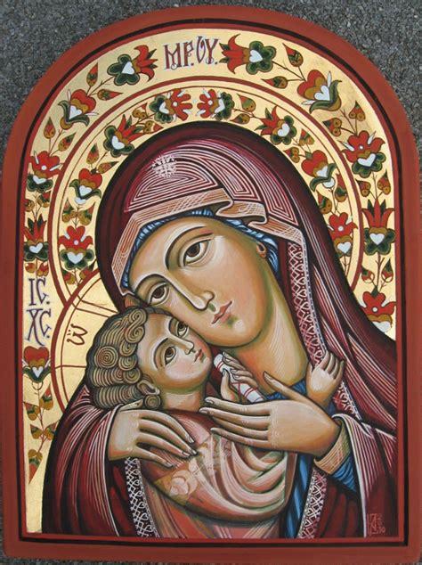jesus icon tattoo m 232 re de dieu avec l enfant j 233 sus ic 244 ne orthodoxe 224 la