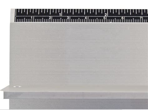 30 Quot Graduated Aluminum Straightedge by Safe T Cut Rulers Large Cutting Straightedge Ruler