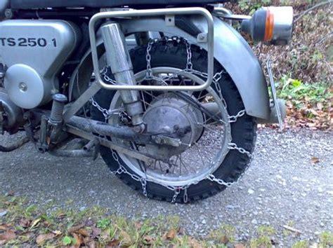 Motorrad Kette Zu Stramm by Motorangs Winterfahrer Tips