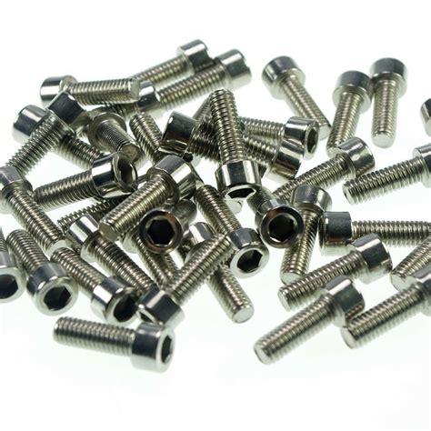 Baut L Hex Socket Stainless Steel The 10 X 20 1 Pcs Mur Wl Wp lot50 metric thread m6 10mm stainless steel hex socket bolt screws ebay