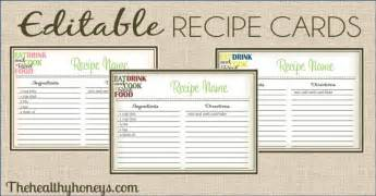 free printable recipe template 15 free recipe cards printables templates and binder inserts