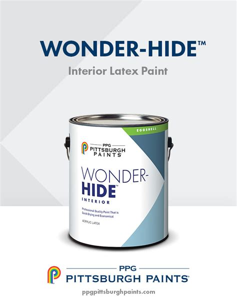 ppg pittsburgh paints  hide interior latex paint