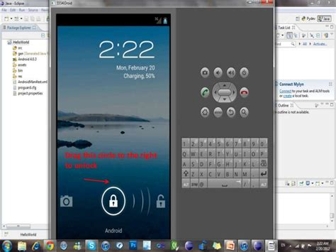 tutorial android hello world android hello world application tutorial 1