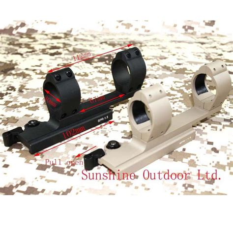 Mounting Od 30 Mm Rell tactical spr 1 5 30mm diameter scope mount qd release scope mount for 20mm picatinny