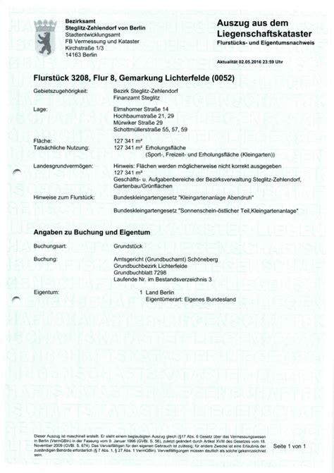 Brief Antrag Weiterbildung Alkis Liegenschaftsbuch Berlin De
