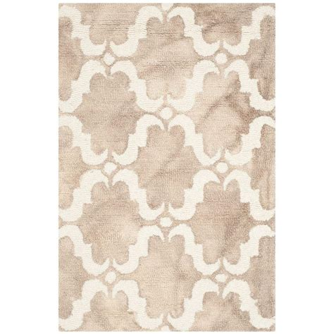 can you dye an area rug safavieh dip dye beige ivory 2 ft x 3 ft area rug ddy536g 2 the home depot