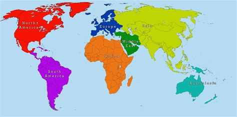 easy map of simple map of the world besttabletfor me