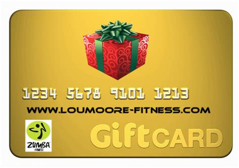 Fitness Gift Cards - cida fitness gift card for zumba fitness class