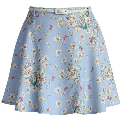 18465 White Flower Denim Skirt best 25 floral skirts ideas on skirt
