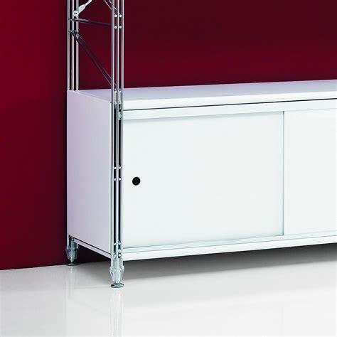 Scaffali Con Ante by Scaffale Modulare Con Ante Scorrevoli Design Moderno