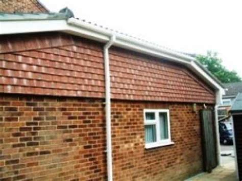 garage roofs tm roofing fleet porch garage roof conversion