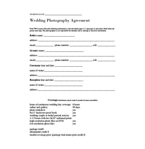 23  Simple Contract Template and Easy Tips for Your