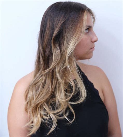 brown and blonde ombre with a line hair cut brown ombre hair solutions for any taste