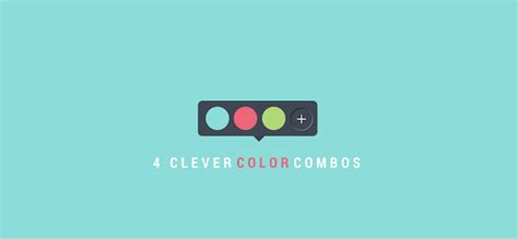 color combo 4 clever color combinations