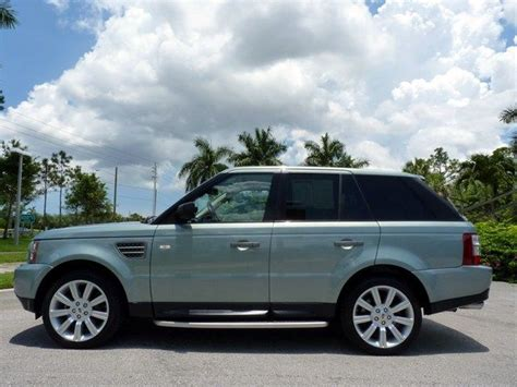 2009 land rover range rover sport west palm fl