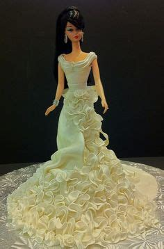 Barbie trumpet wedding dress wedding pinterest barbie wedding