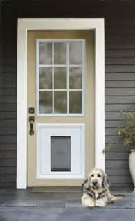 petsafe panel door insert with a built in pet door rpa00