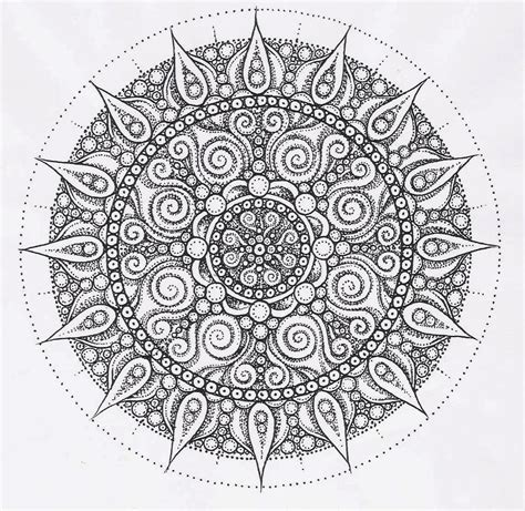 intricate mandala coloring pages az coloring pages