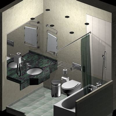 Hotel Bathroom Fixtures 3d Hotel Bathroom Fixtures