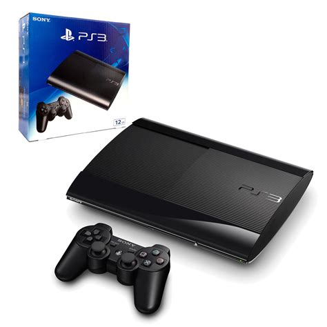 ps3 12gb console new look 12gb playstation 3 console the gamesmen