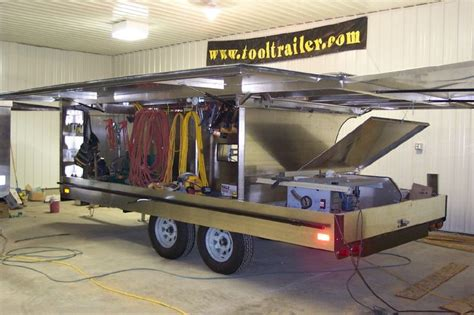 auto forwarding tool tool trailers black trailer mobile office