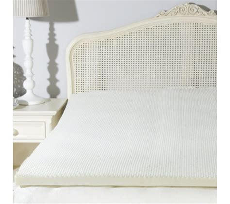 Which Is Better Memory Foam Or Mattress Topper - sleep better sublime memory foam flat mattress topper qvc uk