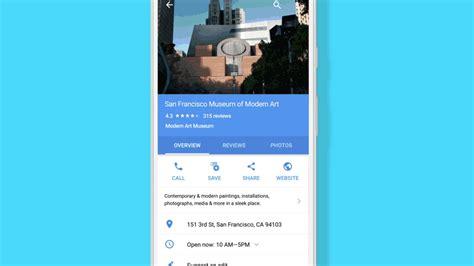 preguntas que google no responde google maps responde dudas sobre locales que quieres visitar