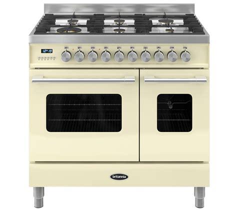 britannia kitchen appliances britannia delphi 90 rc9tgdes duel fuel range cooker