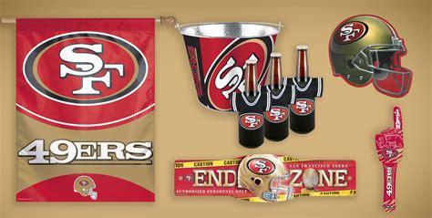 Nfl Decorations Nfl San Francisco 49ers Supplies City