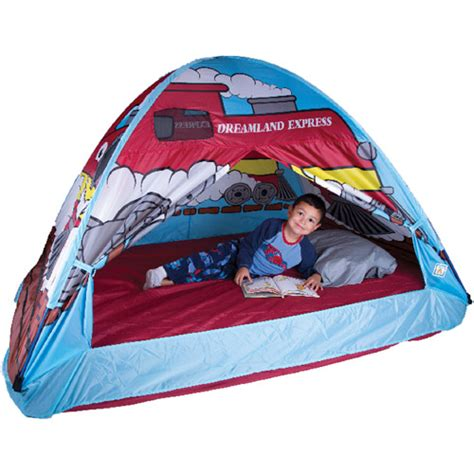 full size bed tent for boy dream land express train bed tent walmart com