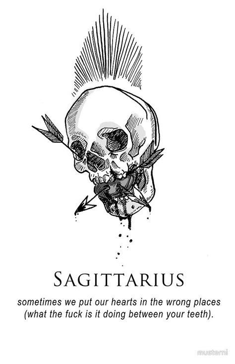 sagittarius horoscope tattoo designs best 25 sagittarius tattoos ideas on
